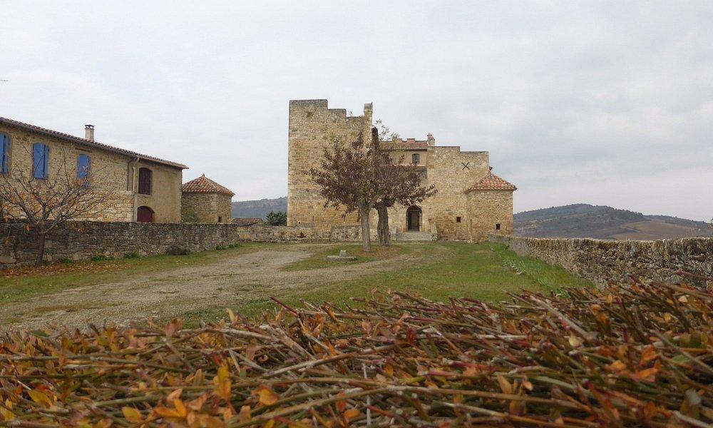 le château de Roquetaillade dans l'Aude CP 11300