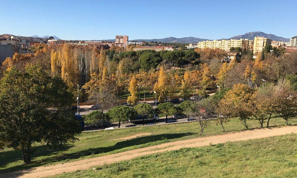 Una tarde en el Parque Central de Sabadell.