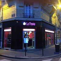 Restaurant La Peonia 153, rue de Billancourt, Boulogne Billancourt. Tel. 0146046523