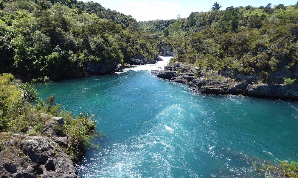 the rapids...