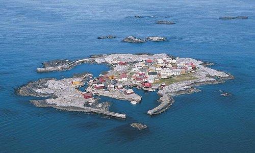 Grip fishing village.  paradise island