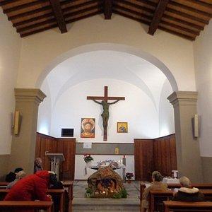 Presepe nella chiesa