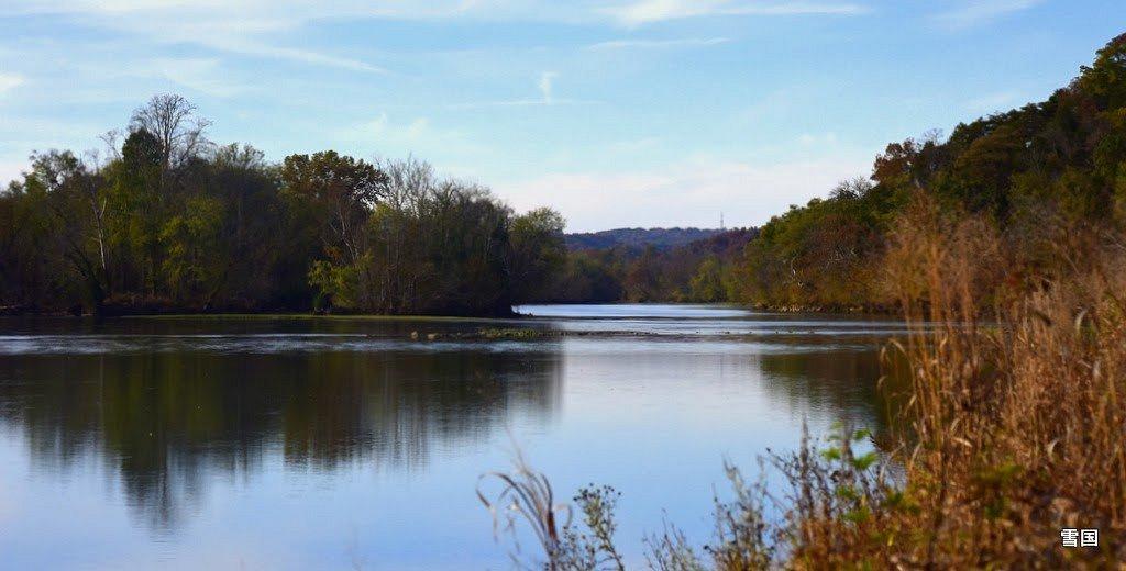 Seven Island State Park, river