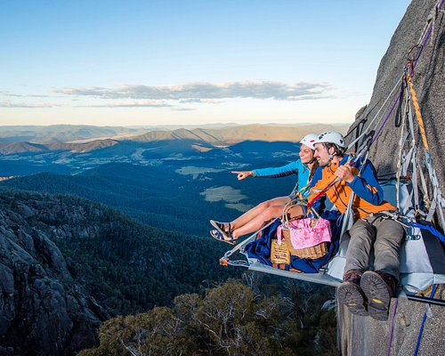 Cliff Picnics- Mt Buffalo. Rock Climbing and Abseiling