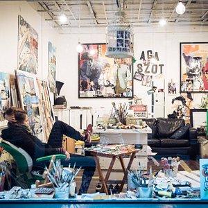 Aga Szot Live Painting Studio