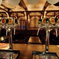 7 сортов пива, собственной варки