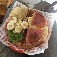 Fruita, Ham and eggs