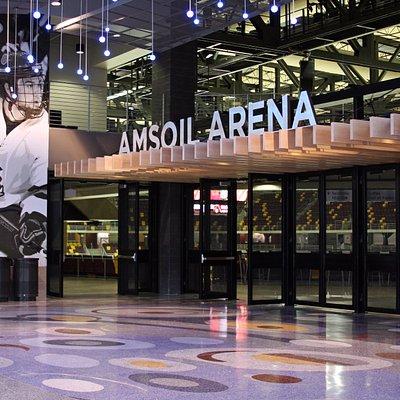 AMSOIL Arena lobby
