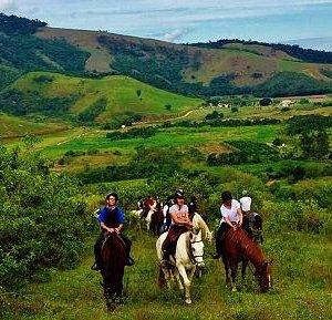 Rural trail ride