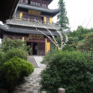 view from the temple garden