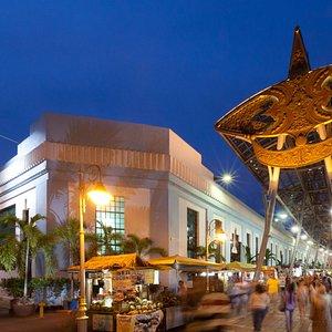 Kasturi Walk situated next to Central Market