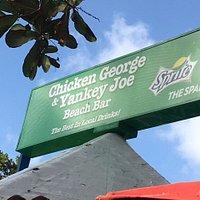 Welcome to Chicken George & Yankey Joe's Beach Bar