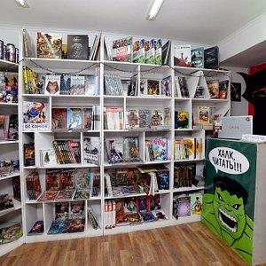 Магазин комиксов EPIC Comics Shop - уютный уголок гик-культуры во Владивостоке.