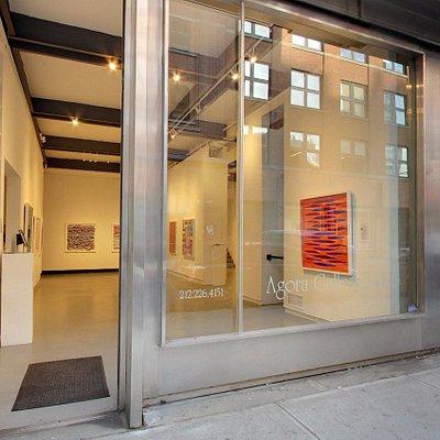Agora Gallery, Chelsea art district, New York City