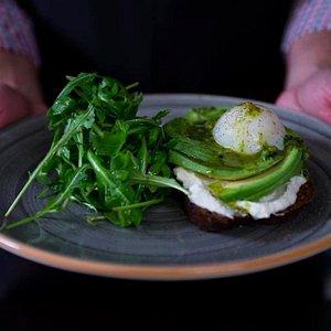 Meet our Veggie Breakfast - Yummy!!