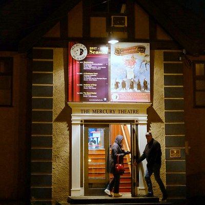 Mercury Theatre by night - 2017