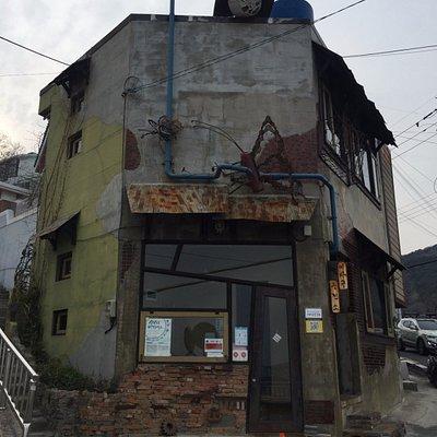 random abandoned shop