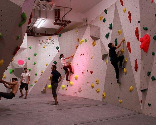 Les grimpeurs en action !
