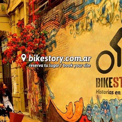 History by bike