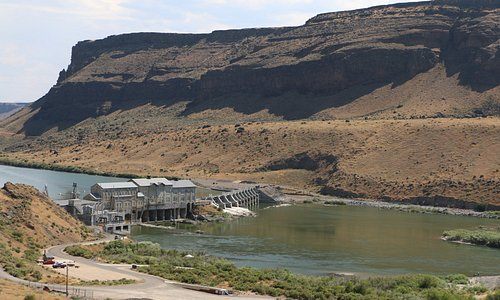 Snake River Canyon at Swan Falls Dam