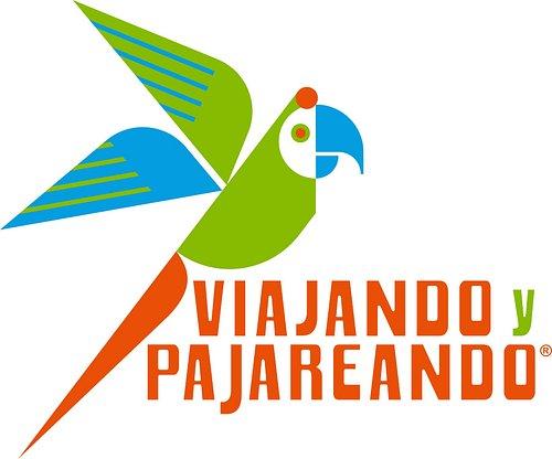 Logotipo de Viajando y Pajareando.