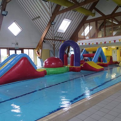 Our inflatable is availabel to hire for parties and is also used over the weekends