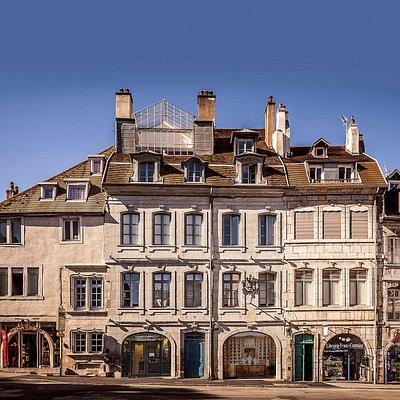 Façade de la Maison Natale de Victor Hugo (crédit : Pascal SULOCHA)