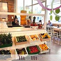 Il nostro banco di frutta e verdura fresca