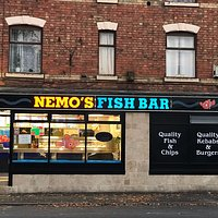 Outside View of Nemo's Fish Bar