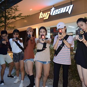 Indoor Laser tag for team building, Birthday parties & Family activities