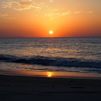 美しい夕日のポイント