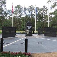 Fallen Warriors Memorial in Cy-Champ Park