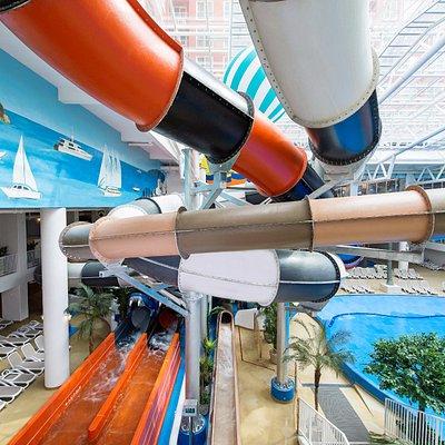 water slide(exit)