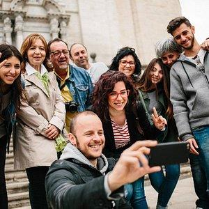 Una foto per immortalitzar al visita a Girona!