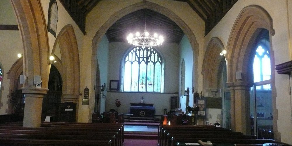 looking towards the altar