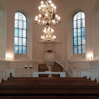 Finkenbergkirche von innen