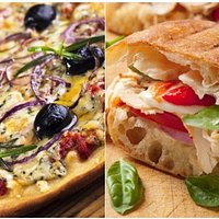 Made to order Pasta, Pizza, Sandwich and Salad