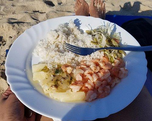 Restaurante Costarenas - Camarones al ajillo - was simple, delicious and a great portion.