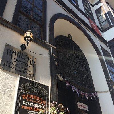 Germiyan sokağı Kütahya Merkezinde tarihi bir atmosfer...
