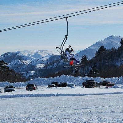Χιονοδρομικό κέντρο Βασιλίτσας Γρεβενών, θέση Φίιππος , τριθέσια καρέκλα, SnowBar360teamVasilits