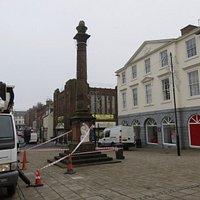 Column under repair