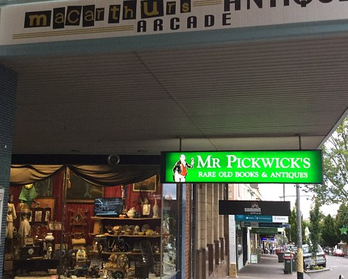Mr Pickwick's Fine Old Books & Antiques.