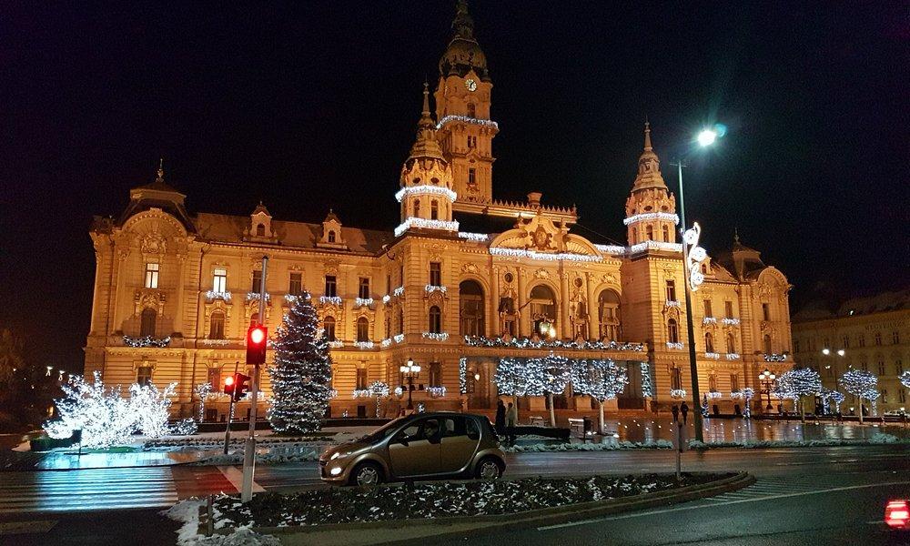 City Hall in Gyor in Gyor 2017