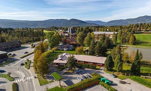 Oversiktsbilde Stor-Elvdal Hotell