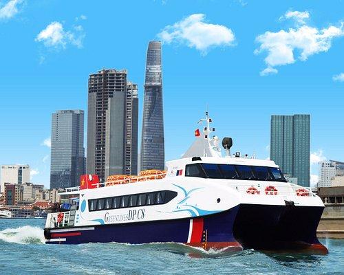 Catamaran ferry double safety !!!