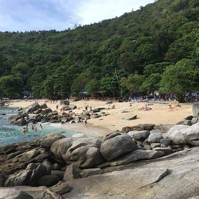Geweldige dag gehad op het rustieke Ao Sane Beach, aanrader voor mensen die willen snorkelen 👍?