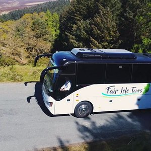 Our luxury Higer coach is the pride of our fleet.
