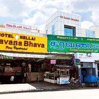 Hotel Nellai saravana Bhava Town Front View