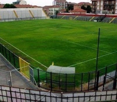 Vista del campo di calcio