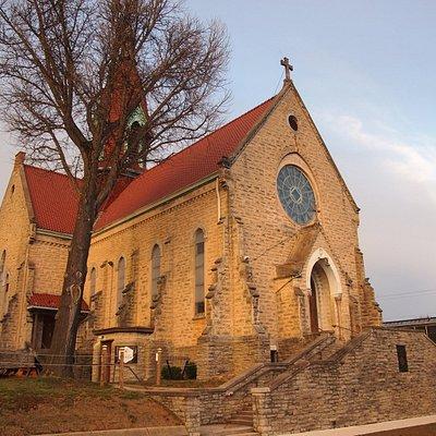 Urban Artifact exterior (historic St. Patrick church building)
